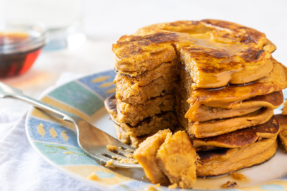 Sweet Potato Pancakes by Stacey Antine, MS, RDN, Bergen County Moms