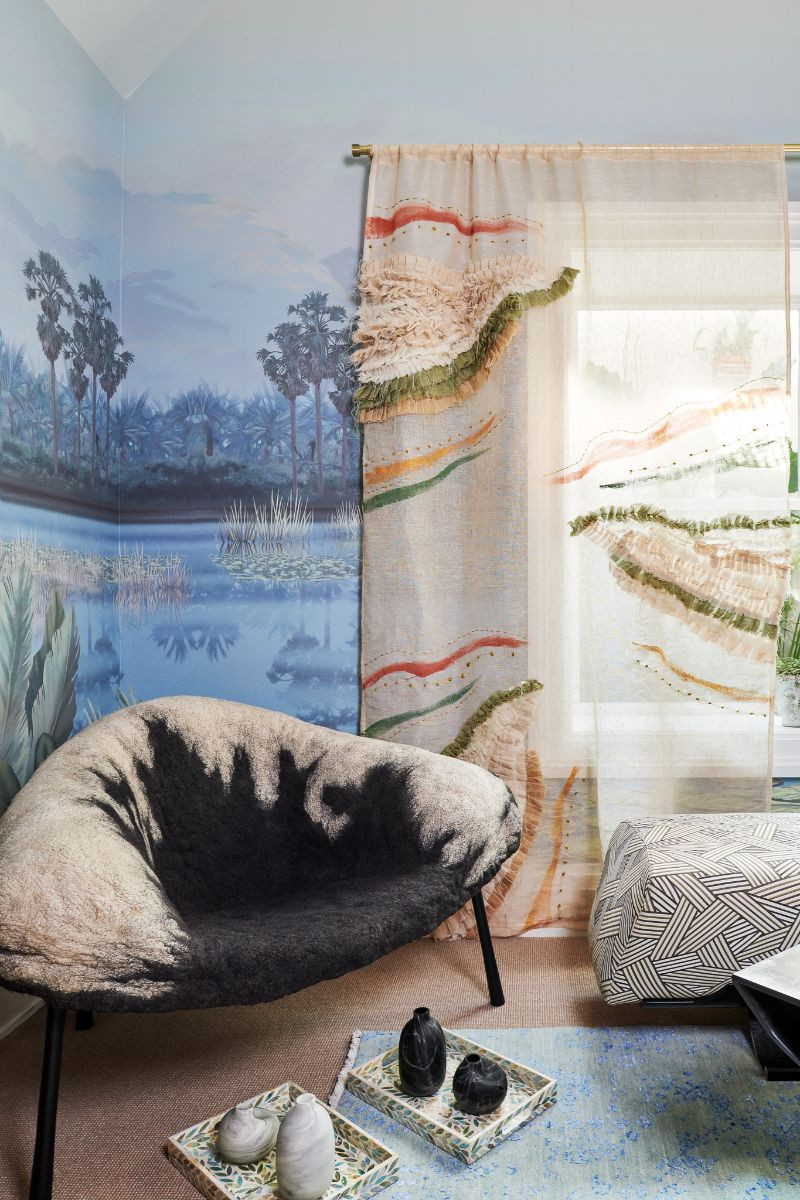 Sustainable Design Source List: Restorative Room by Laurence Carr, Interior Design, Bergen County Moms