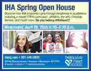 IHA Open House April 29th 2020 Bergen County Moms