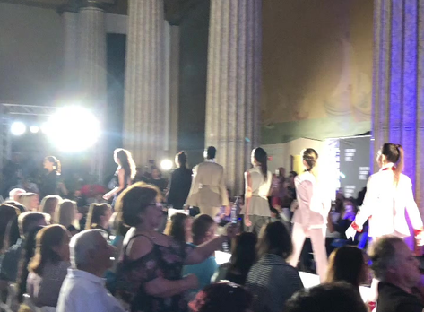 Tux Couture on the Runway at NY Fashion Week