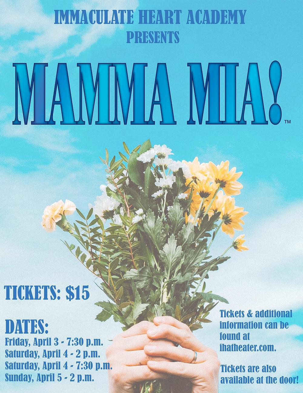 IHA Spring Musical Mamma Mia! Bergen County Moms
