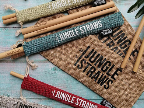 Jungle Straws Support a Plastic Free World