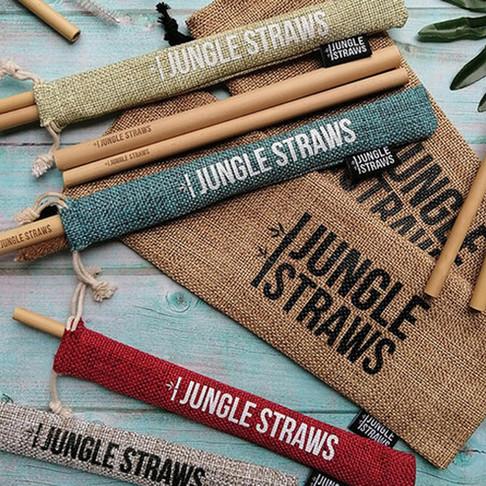 Jungle Straws Support a Plastic Free World