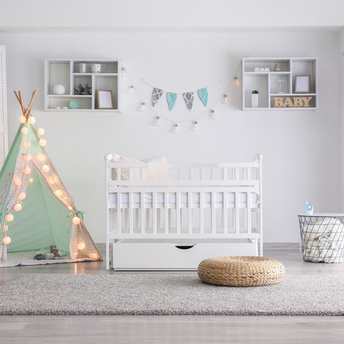 The Sustainable Nursery: Your Baby's Safe Haven by Laurence Carr, Interior Design