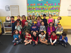 Wacky Wednesday in the Orchard Class