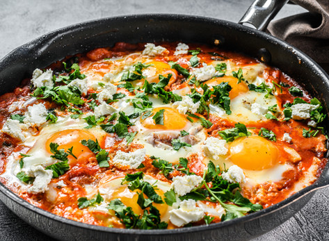 Garden-Style Shakshuka by Stacey Antine MS, RDN