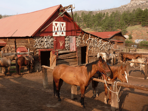 6 Incredible USA Resorts: #2 Lost Valley Ranch in Sedalia, Colorado by Anna Fishman, Bergen County Moms