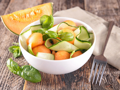 Fruit + Veggie Salad by Stacey Antine, MS, RD