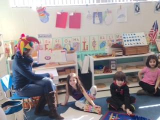 Kindergarten Mardi Gras Cultural Program, Montessori Learning Center Ridgewood