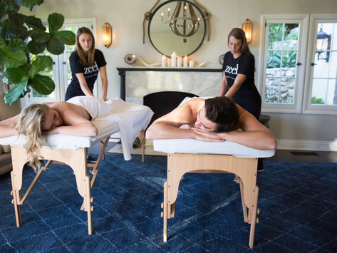 Book Same-day, In-home Massages with Zeel