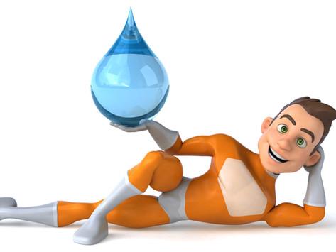 Water Villain Vs Water Hero by Cindy Dittfield