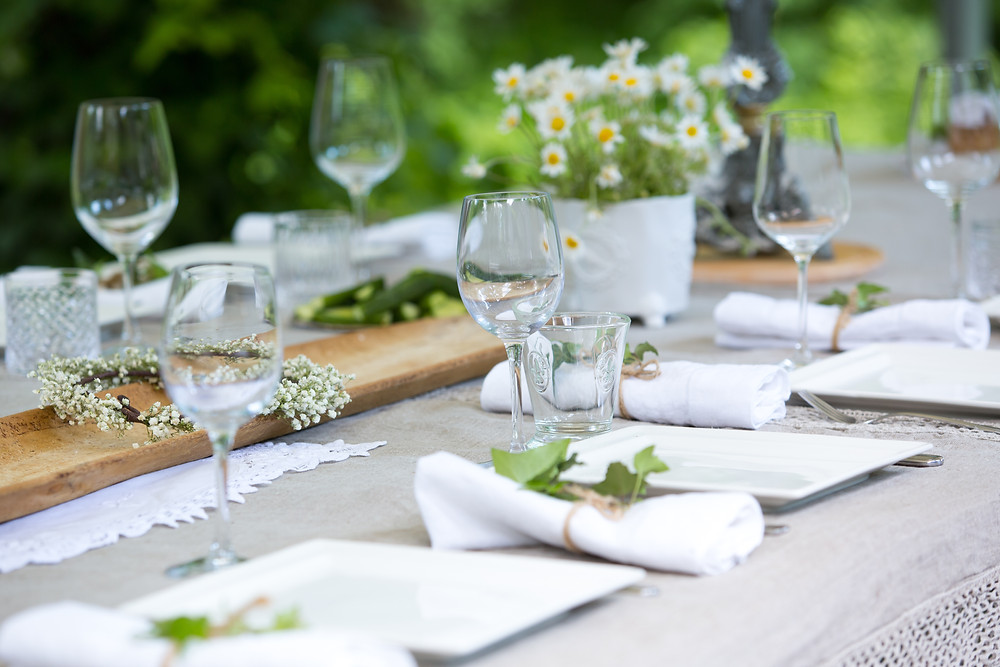 How to Set an Eco Friendly Outdoor Table for the Warmer Days Ahead by Laurence Carr, Interior Design, Bergen County Moms