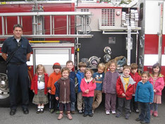 Visit from the Ridgewood Fire Department