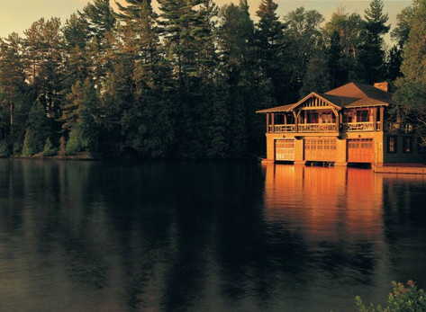 6 Incredible USA Resorts: #3 The Point on Saranac Lake in New York by Anna Fishman