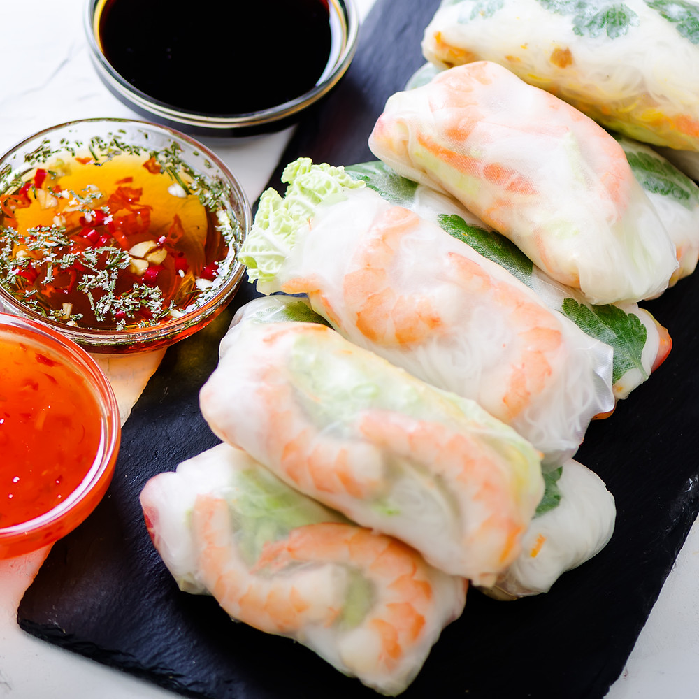Vietnamese Spring Rolls by Stacey Antine, MS, RD, Bergen County Moms