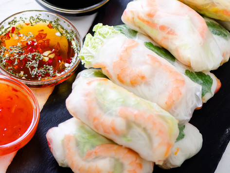 Vietnamese Spring Rolls by Stacey Antine, MS, RD
