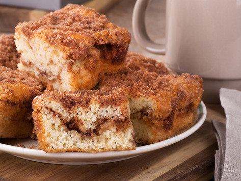 Fluffy Coffee Cake by Stacey Antine, MS, RDN
