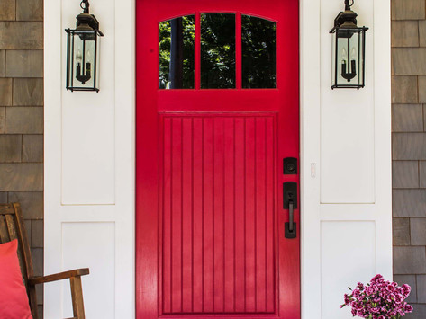 Front Door Color: What It Can Say About You by Luly Bestard Melarti