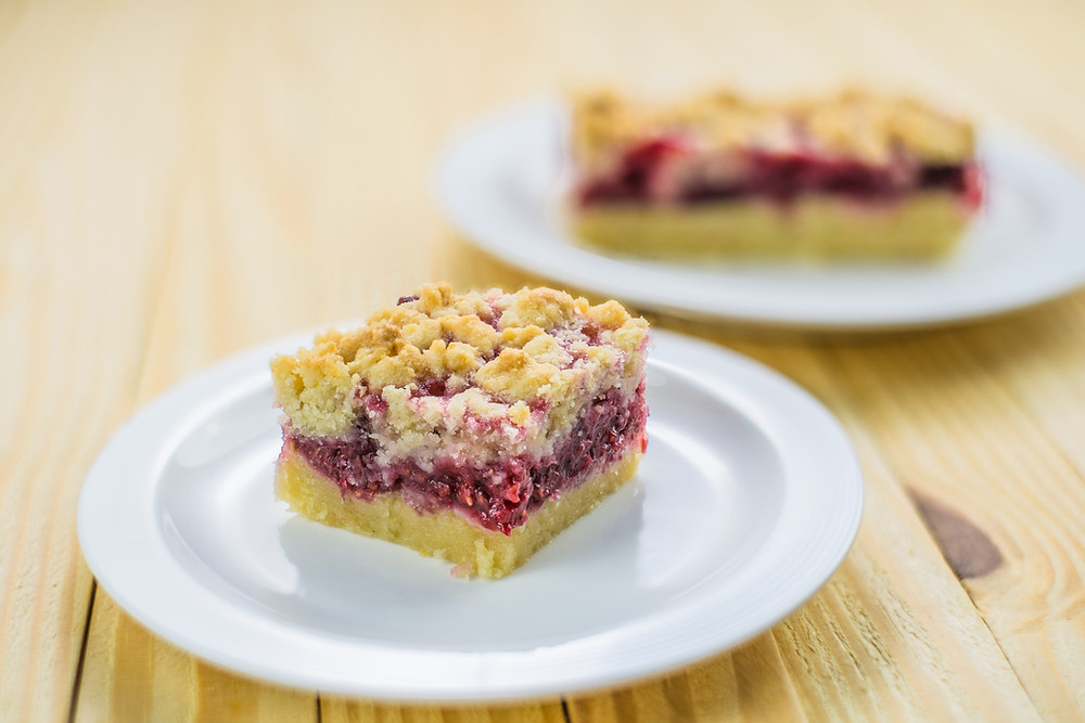 Raspberry Crumble by Stacey Antine, MS, RD, Bergen County Moms