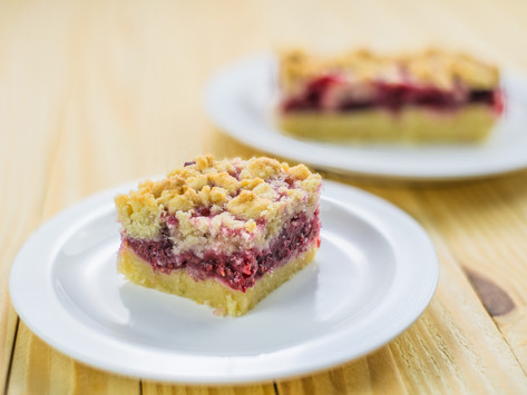 Raspberry Crumble by Stacey Antine, MS, RD