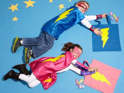 Superhero Capes for Kids + Adults