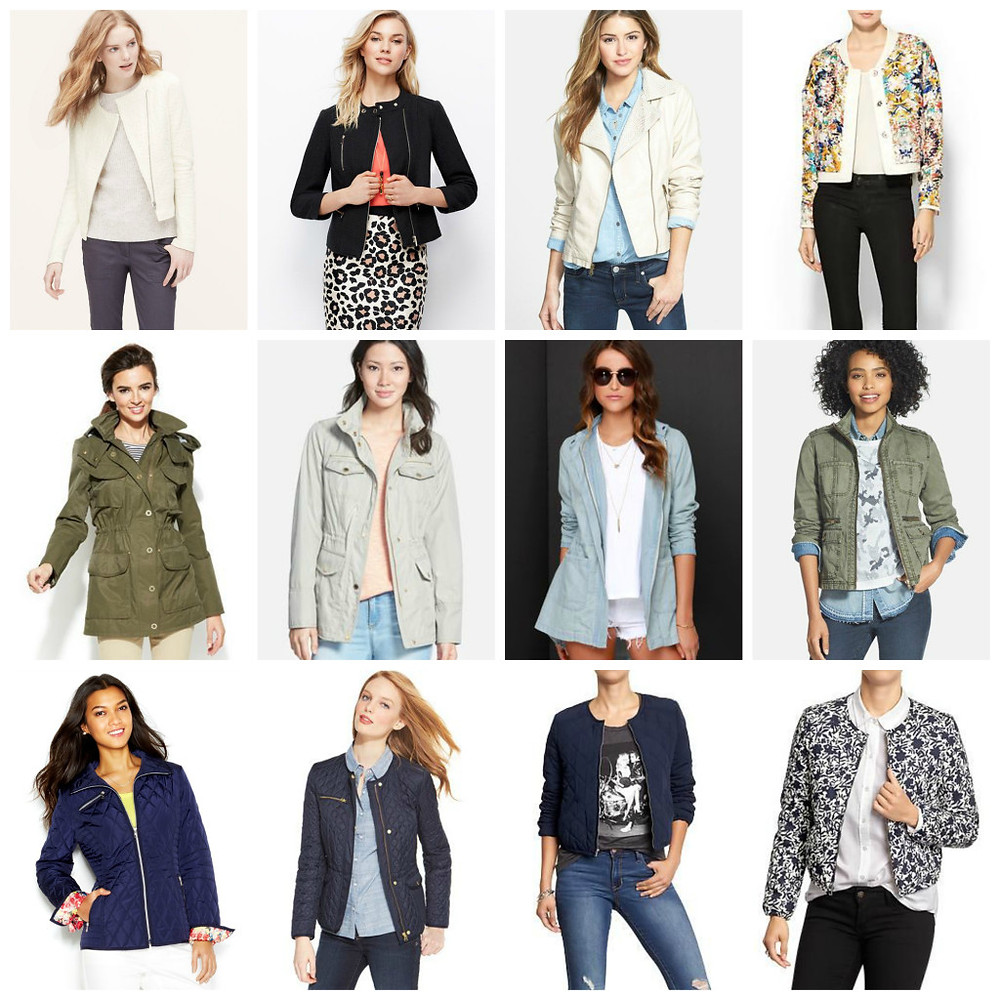 Spring Jacket Trends by Kate Kaschenbach, Ridgewood Moms