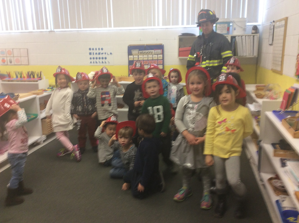 Occupation Week, Fireman Hank, Montessori Learning Center Ridgewood