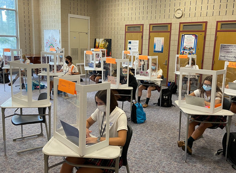 Immaculate Heart Academy's Reopening Success + In-Person Open House Tours Oct 25th + 29th