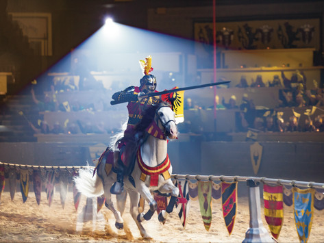 Watch Heroic Knights Battle at Medieval Times