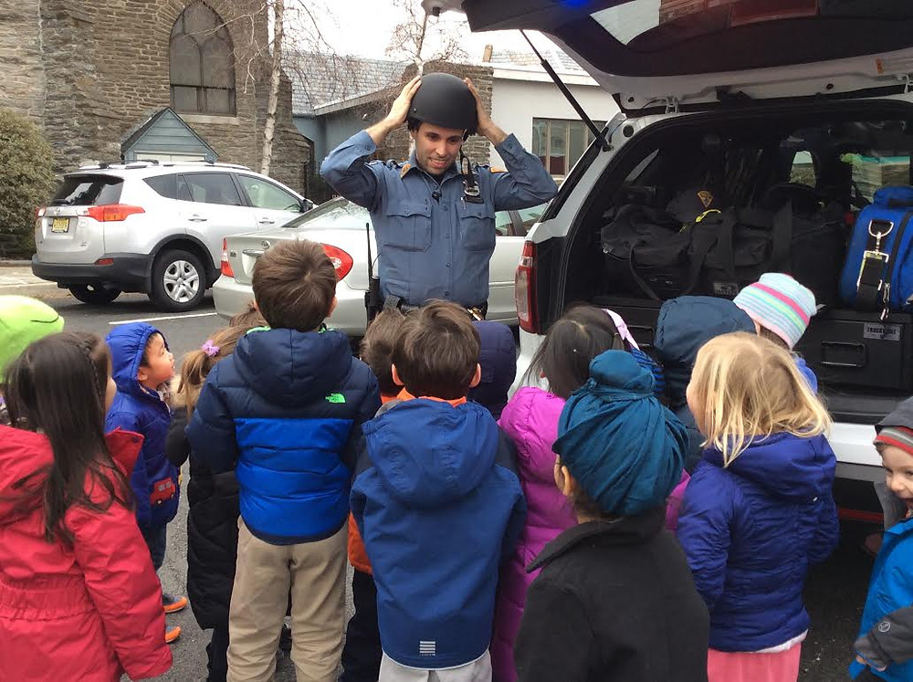 Occupation Week: Officer DiBenedetto, Montessori Learning Center