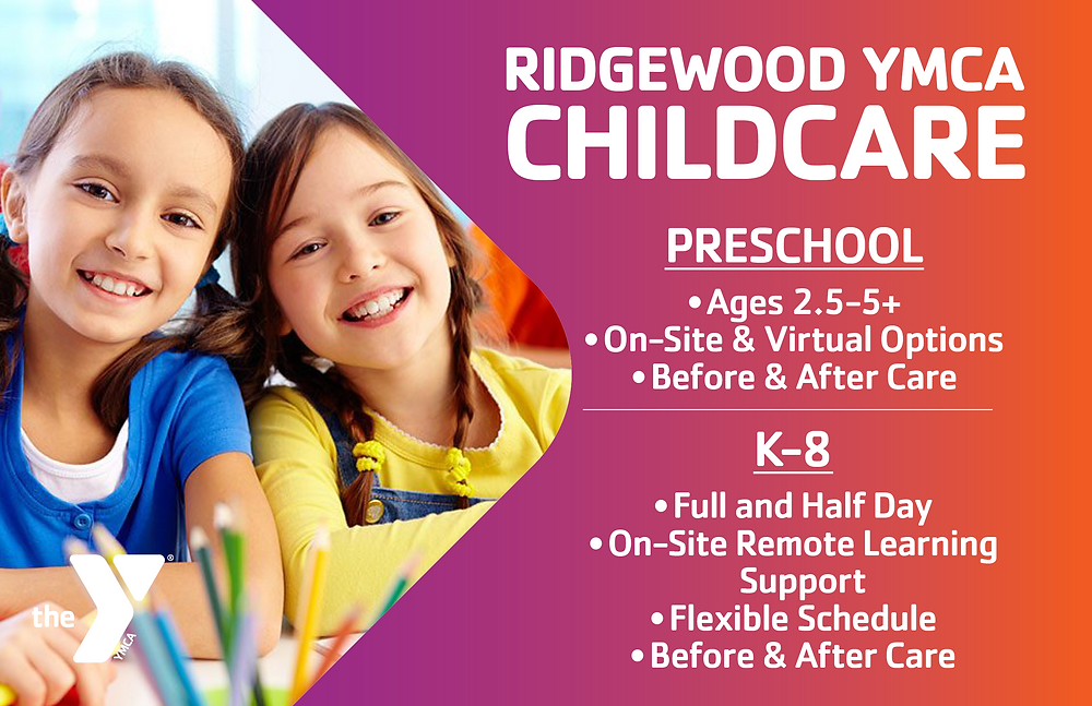 Ridgewood YMCA Preschool, Remote Learning Support + Child Care Solutions this Fall, Bergen County Moms