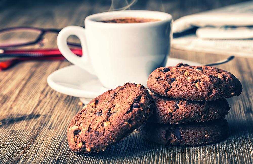 Coffee and Cookies by Zarmeen Patil, M.S. Biochemistry + Organic Chemistry Wellness and Food Science Coach, Ridgewood Moms