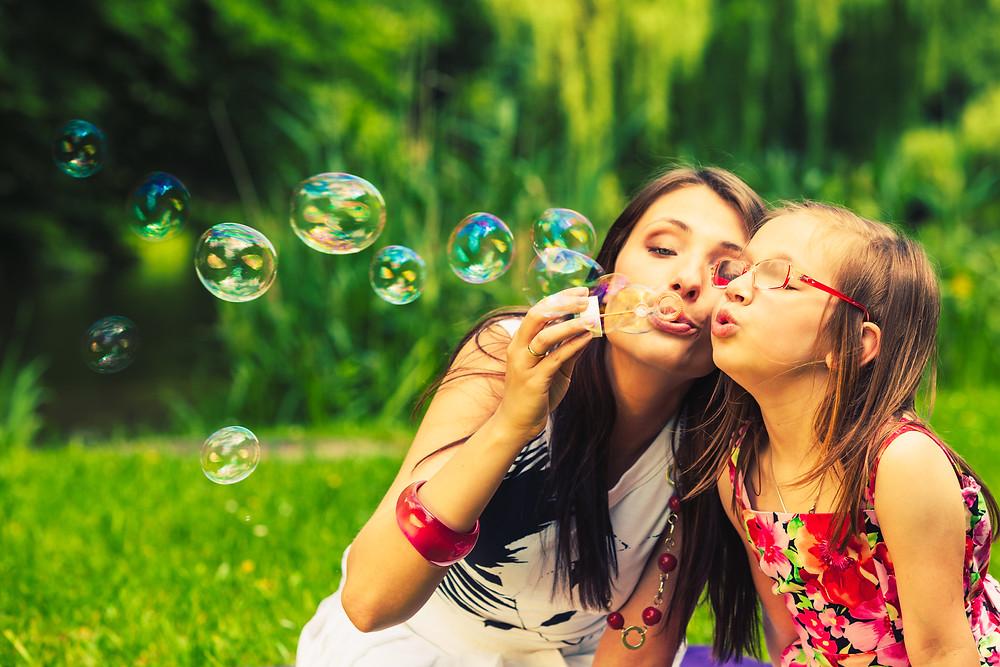 Blowing Bubbles Helps Kids Practice Their Breathing by Konstantin Lukin, Ph.D., Bergen County Moms