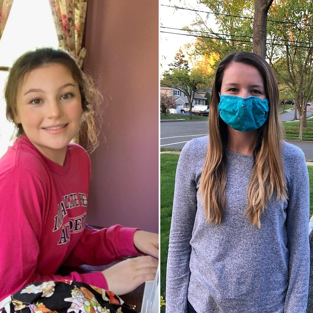 Need for Face Masks Connects IHA Sisters, Bergen County Moms