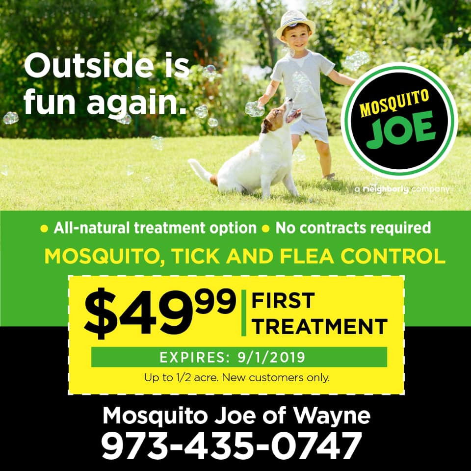 Outside is Fun Again, Treat Your Yard with Mosquito Joe, Bergen County Moms