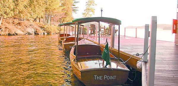 6 Incredible USA Resorts: #3 The Point on Saranac Lake in New York ⁣by Anna Fishman, Bergen County Moms