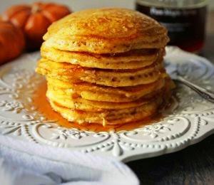Pumpkin Buttermilk Pancakes by Stacey Antine MS, RDN, Bergen County Moms