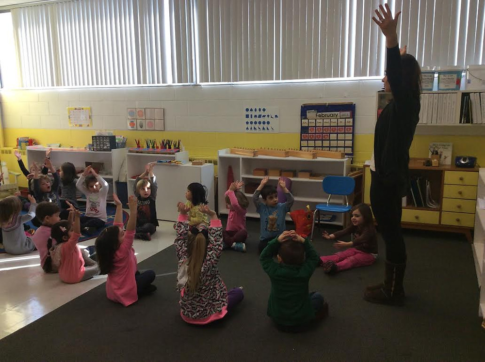 Occupation Week: Ms. Joanna, Yoga Teacher, Montessori Learning Center Ridgewood