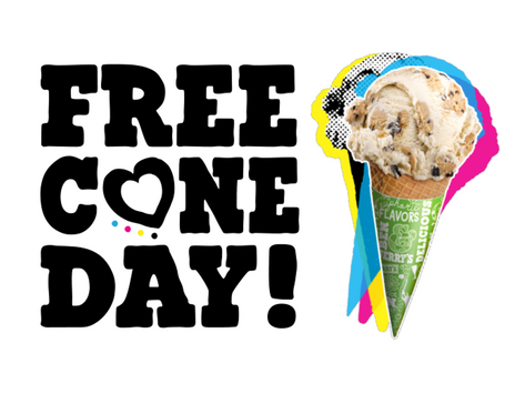 Ben & Jerry's Free Cone Day April 9th