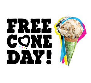 Ben & Jerry's Free Cone Day April 9th, Bergen County Moms