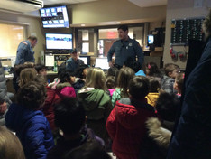 Field Trip to the Ridgewood Police Station