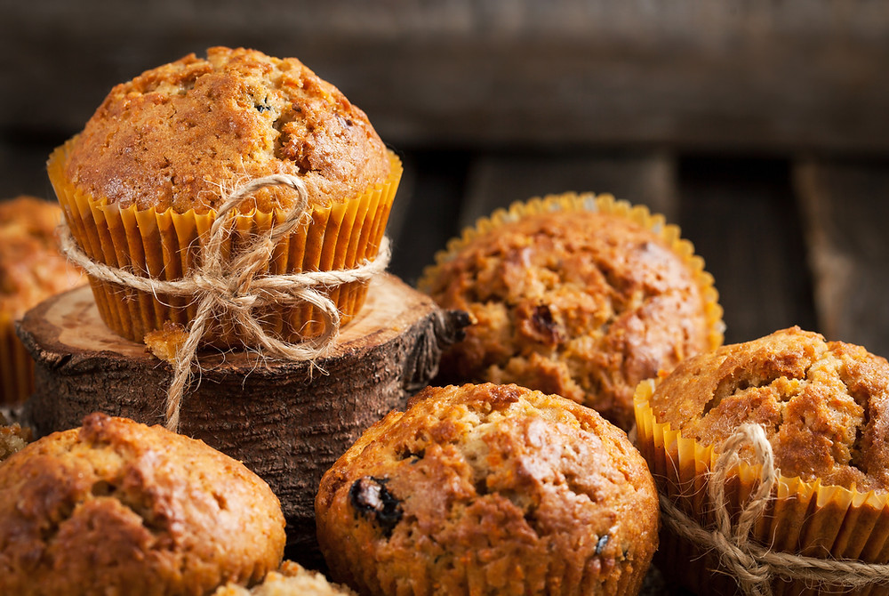 Carrot Cake Muffins by Stacey Antine MS, RDN, Bergen County Moms