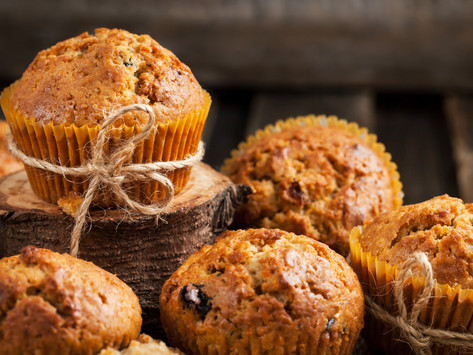 Carrot Cake Muffins by Stacey Antine MS, RDN