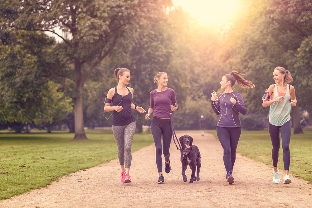 Jogging for your Health by Stacy Geant Hughes, Bergen County Moms