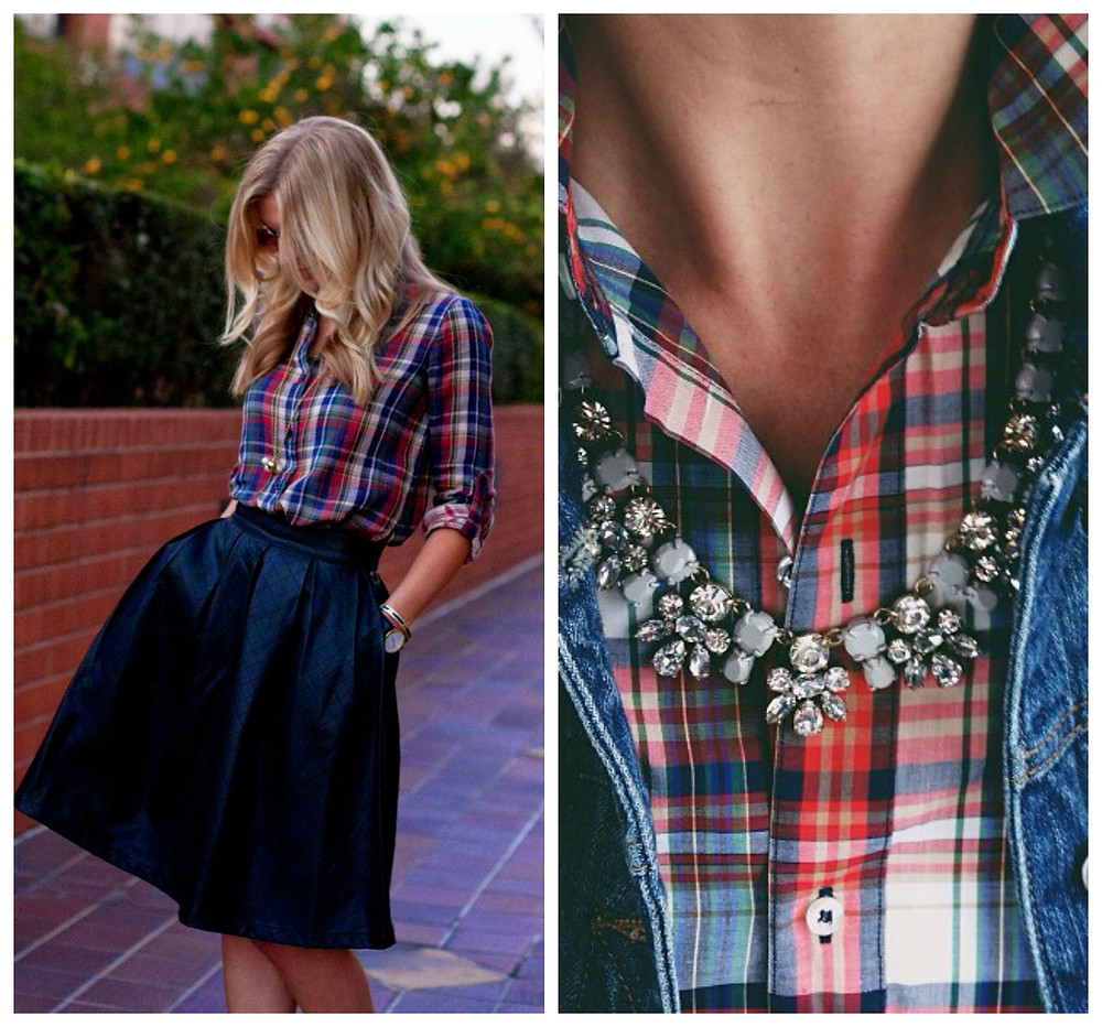 3 Ways to Wear a Plaid Skirt by Kate Kaschenbach, Ridgewood Moms