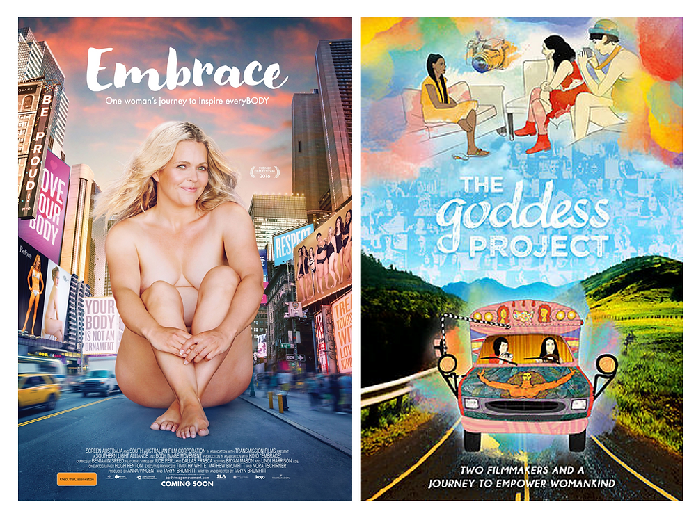 Embrace + The Goddess Project, Documentaries Written and Directed by Amazing Women, Bergen County Moms