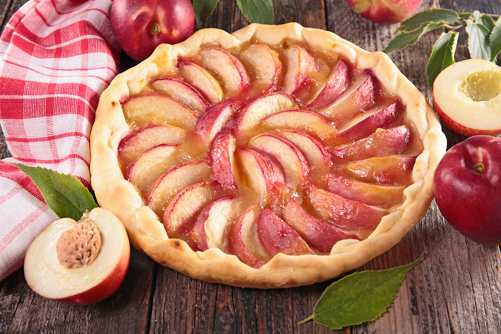 The Peach Tart by Stacey Antine, MS, RDN, Bergen County Moms