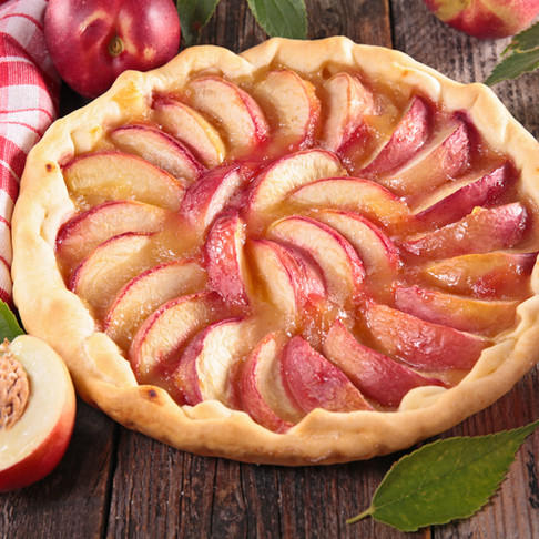 The Peach Tart by Stacey Antine, MS, RDN