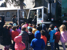 Recycling Department Visits MLC