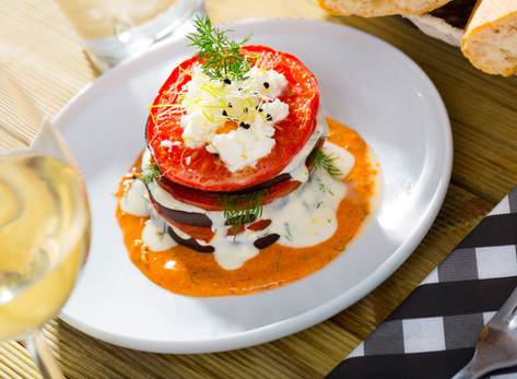 Eggplant Parm Towers by Stacey Antine, MS, RDN